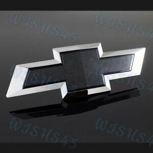 New Black Tailgate Bowtie Emblem For 2014-2019 Chevy Silverado 1500 Colorado