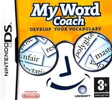 My Word Coach DS (Nintendo DS) - Free Postage - UK Seller - NP