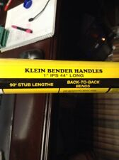 "New~ Klein 50474 Conduit Bender Handle 1"" Ips 44"" Long Handle 50474 Yellow"