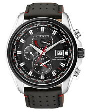 Citizen Herrenuhr AT9036-08E ECO-DRIVE Funkuhr Leder
