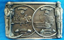 MCcormick  INTERNATIONAL HARVESTER IH Tractor  PEWTER BELT BUCKLE