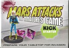 Mars Attacks Invasion Kick Starter Miniatures Game Card