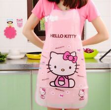 Pink Hello Kitty Waterproof Kitchen Apron - Very Cute