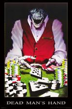 Lot Of 2 Posters : Fantasy: Dead Man'S Hand - Skull / Skeleton #3392 Rc53 B
