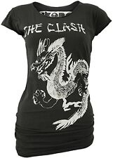 Rare AMPLIFIED IKONS THE CLASH Dragon Rock Star Tunika Longshirt T-Shirt g.XS