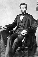 New 5x7 Civil War Photo: President Abraham Lincoln Prior to Gettysburg Address