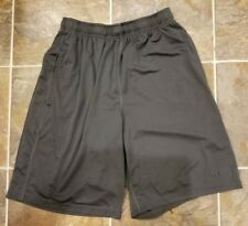 Men's NIKE Basketball Shorts Dri-Fit Black Size Large