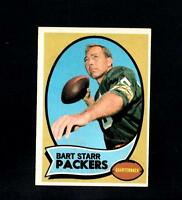 4710* 1970 Topps # 30 Bart Starr Ex-Mt