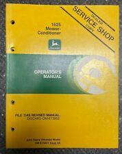 John Deere 1525 Mower Conditioner Operator Manual Om E75021 L 5