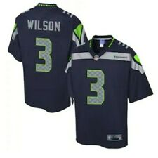 Russell Wilson Nike #3 Embroidered Seattle Seahawks Jersey SZ L NWT