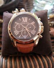 Michael Kors Authentic Watch womens Bradshaw Chronograph MK5630- leather strap