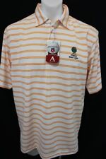 NWT ANTIGUA GOLF 29TH ANNUAL HAWAII PEARL OPEN 1/4 Zip Rugby Polo DRY Shirt L