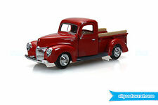1940 Ford Pickup Truck Red 1:24 scale American Classic die-cast model car