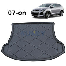 Rear Trunk Tray Cargo Liner Mat Boot Floor Carpet For Mazda CX-7 CX7 2007-2017