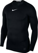 Nike Combat Compression Funktionsshirt pink grau Herren Gr