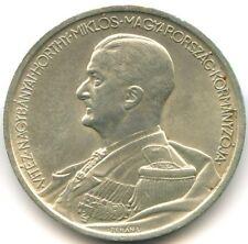 Hongrie 5 Pengo argent 1939 KM 517