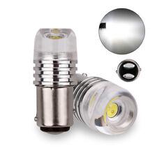4X 1157 BAY15D Car LED COB Strobe Flashing White 12V Car Brake Turn Signal Lamp