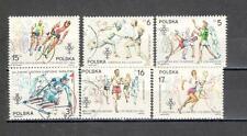 R9573 - POLONIA 1984 - SERIE COMPLETA OLIMPIADI - VEDI FOTO