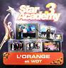 Star Academy 3 CD Single L'Orange / Wot - France (VG+/VG+)