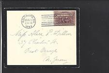 BALTIMORE, MARYLAND, 1893 #231 VF+ COLUMBIAN MOURNING COVER.