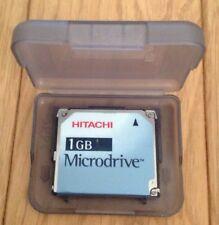 HITACHI 1 GB COMPACT FLASH CF + tipo II Microdrive: modello dscm 11000