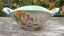 Vintage Retro Midcentury Ceas Albisola Italy Italian Studio Pottery Dish Bowl