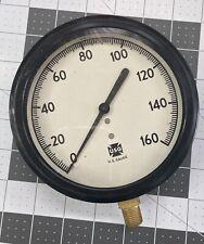 Vintage Us Gauge Usg 4 Dial Diameter 0 160 Scale Used Steampunk Prop Vtg Usa