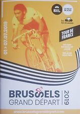 2019 CYCLING TOUR DE FRANCE PROGRAMME GRAND DEPART 100 YEARS YELLOW JERSEY ENG +
