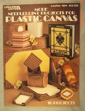 More Needlepoint Projects For Plastic Canvas - Leisure Arts 213 - 16 Projects
