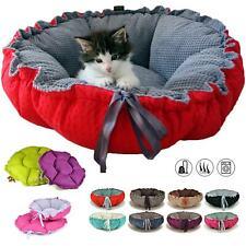 Handmade Luxury Handmade Pet Cat Dog Puppy Basket Cushion Bed Sofa Mattress UK