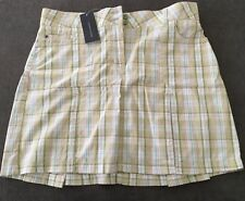 Women's Tommy Hilfiger Plaid Skirt Col Light Green Size 10