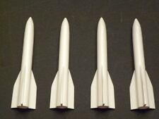 Lionel Train #44-80 White Missile w/ Weight - Set of 4