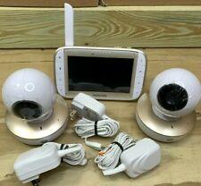 "Motorola Mbp50 5"" Video Baby Monitor 2 Cameras"