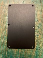 Charvel San Dimas / So Cal Anodized Black Aluminum Tremolo Cover Plate