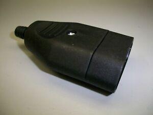 Eurokupplung (M19.) 1 Stück !!! 2,5 A ,230 V schwarz, Selbstmontage