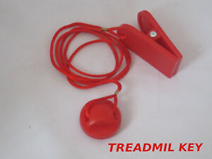 NEW RED Safety Key FOR Treadmil SAFTEY Magnetic Security Switch Lock SAFE KEY UK