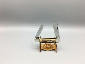 Case XX 10 Dot (1970) Stag 52131 Canoe With Gorgeous Stag Knife Mint In Box-A37