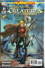 Frankenstein and the Creatures of the Unknown #2 VF+/NM- 1st Print DC Comics