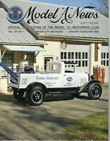 "1931 AA Service Truck and Wrecker - Model ""A"" News Official Publication 2008"