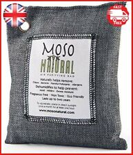Moso Natural Air Purifying Bag, Odor Eliminator for Cars, Closets, Bathrooms and