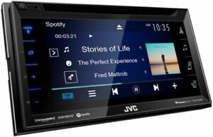 "AUTHENTIC JVC KW-V350BT 2 DIN 6.2"" Screen Bluetooth CD/DVD Receiver Car radio"