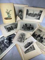 Large lot of vintage pages Photos and more d350