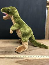 "Fiesta T Rex 29"" Dinosaur Plush Tyrannosaurus Dino Green Brown Stuffed Animal..."