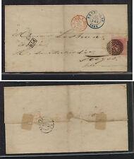 Belgium  folded envelope #8  folded cover  1854           AP0117