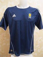 Scotland national team 2010/2011 Home Size L Adidas shirt jersey Fletcher era