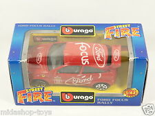 [PG3-17] *RARA* BBURAGO BURAGO 1/43 STREET FIRE #4174 FORD FOCUS RALLY RED ROSSA