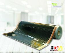 Elektrische Fußbodenheizung Heizfolie 1m Breite 50 cm 130 Watt HDW