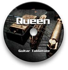 Queen Rock Guitar Tabs Tablature Lesson Software CD - Guitar Pro