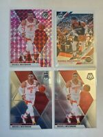 Russell Westbrook Rockets! 2019-20 Mosaic Pink Camo Prizm/2 Base #134 Optic #58