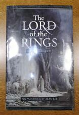 The Lord Of The Rings Poster Collection. 6 Paintings by Alan Lee New. Ultra Rare